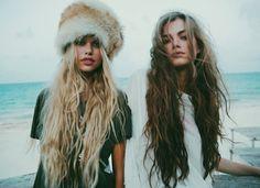 Their hair