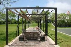 wooden pergola design - Google Search