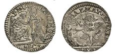 NumisBids: Numismatica Varesi s.a.s. Auction 67, Lot 467 : VENEZIA ALVISE II MOCENIGO (1700-1709) Ottavo di Leone da 10...