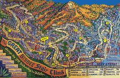 Bisbee 1000 The Great Star Climb - October, 2016 - right in my hometown backyard, would love to do this!!