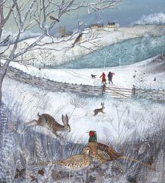 """Walk in the Snow"" by Lucy Grossmith"