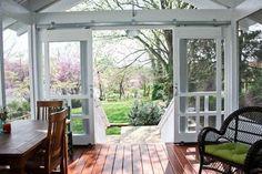 22 Cozy Farmhouse Screened In Porch Design Ideas