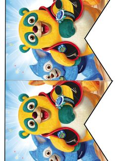 FREE Special Agent Oso Birthday Party printable cupcake topper, banner and water bottle label files