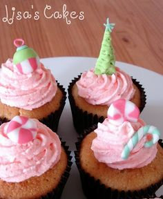 Christmas Cupcake Decoration ideas : Let's Celebrate!