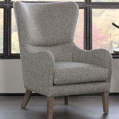 Mercury Row Hosey Swoop Wingback Chair