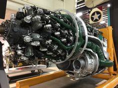 Pratt & Whitney R-4360 Wasp Major Engine - Kalamazoo Air Zoo [OC] [3264x2448]