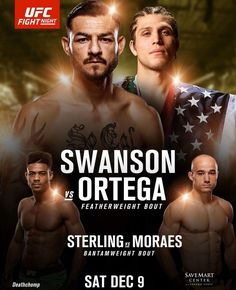 UFC Fight Night 123: Swanson vs Ortega – wyniki | FIGHT24.PL - MMA i K-1, UFC