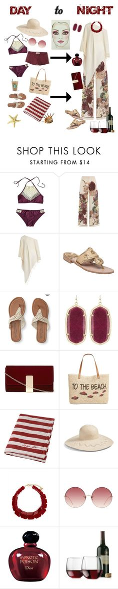 """Day to Night"" by dobesht ❤ liked on Polyvore featuring Valentino, Su Paris, Jack Rogers, Aéropostale, Kendra Scott, Dorothy Perkins, Style & Co., Ralph Lauren Home, Hinge and Jaeger"