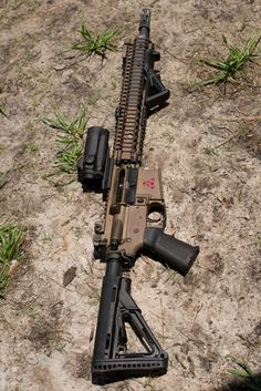 Awesome.  Love the custom color of upper/lower receiver and rail.
