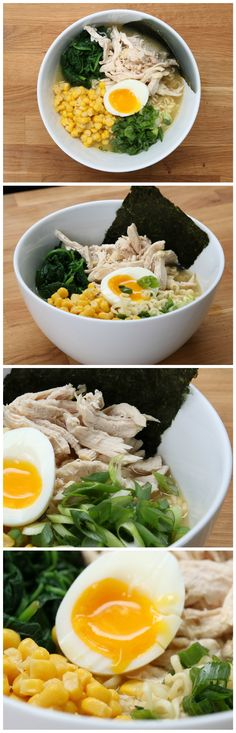 Easy Miso Chicken Ramen