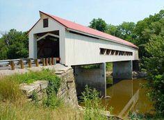 Covered Bridge in Mechanicsville, OH