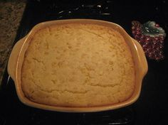 """Jiffy Corn Casserole 5 Ingredients: 1 (8 ounce) box Jiffy cornbread mix  1 (15 ounce) can whole kernel corn, drained  1 (15 ounce) can creamed corn (not drained)  1 cup sour cream  1/2 cup melted butter  Directions:    1  Mix all ingredients and pour into (greased or sprayed with cooking spray) 8x8"""" casserole dish.  2  Cook uncovered for 55-60 minutes at 350 degrees."""