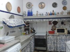 rajoles+cortines cuina antiga