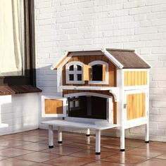 TRIXIE 2-story Cat Cottage - Overstock Shopping - The Best Prices on Trixie Pet Products Cat Furniture