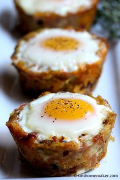 Leftover Stuffing and Chorizo Egg Cups, looks so good I bet even my food scared Padre would eat these. Breakfast Cups, Savory Breakfast, Breakfast Items, Breakfast Recipes, Breakfast Casserole, Chorizo, Quiches, Leftovers Recipes, Egg Cups
