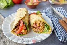 Blt Wrap, Tortilla Burrito, Go For It, Lunches, A Food, Tapas, Dinner Recipes, Food Porn, Healthy Recipes