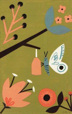 butterfly, Christian Robinson