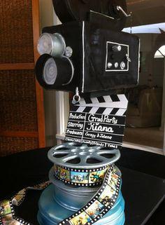 Hollywood theme cake!  Amazing cake by Teri Roney