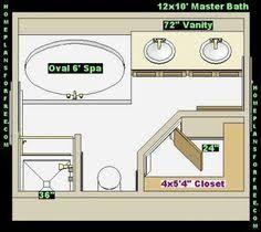 Image Result For 10x12 Master Bath Closet No Tub Bathroom Layout Plans Bathroom Layout Master Bathroom Plans