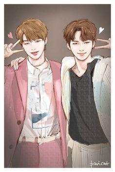 (1) ทวิตเตอร์ K Pop, Fanart Kpop, Cartoon Fan, Bae, Kpop Drawings, Face Sketch, Anime Version, Star Wallpaper, First Art