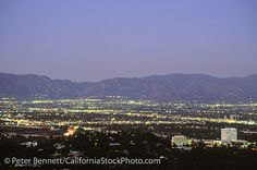San Fernando Valley from Mulholland Drive, Los Angeles, California (LA) by peterbphoto1390, via Flickr