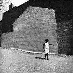 Arthur Tress - Woman in Urban Renewal Project, New York City, 1970 Pedro Martinelli, Arthur Tress, Olivia Parker, Moving To Paris, Film School, Gelatin Silver Print, Urban Renewal, His Travel, Black And White Photography