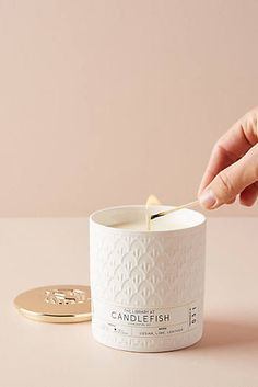 Slide View: Candlefish Ceramic Candle No. Unique Candles, Large Candles, Luxury Candles, Fragrant Candles, Scented Candles, Soy Candles, Chai, Image Bougie, Bougie Candle