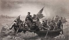 Washington Crossing the Delaware print  $10,000