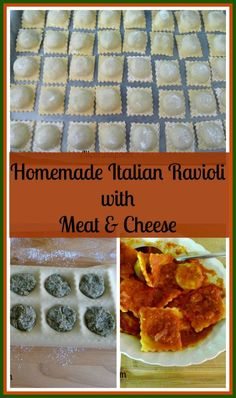 Homemade Italian Ravioli with Meat and Cheese a Classic Italian Cuisine complete tutorial from start to delicious finish @allourway.com
