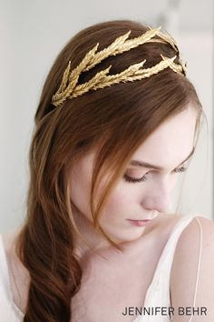 Jennifer Behr Bridal 2014 Collection :: photography by Belathee Bridal :: Pyrrha Tiara available at www.jenniferbehr.com