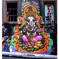 Ganesha art. Travel India