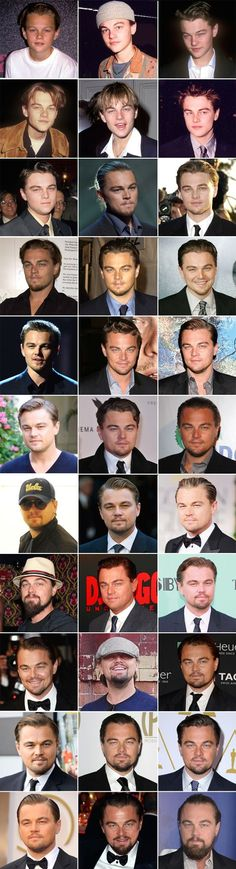 41 Years of Leonardo DiCaprio