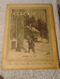 Grit Newspaper Story Section January 31 1937