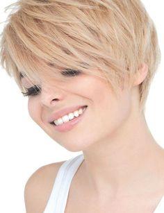 Kort blond haar verveeld echt nooit! Bekijk hier 10 vet coole korte kapsels in blonde kleuren! - Kapsels voor haar