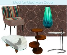 Mad Men inspired decor ideas. Shop for Mid-century style furniture on Overstock.com.