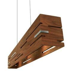 Contemporary pendant lamp (wood) - AERIS - Cerno #lighting
