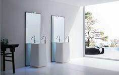 Мебель для ванных комнат Rexa: Opus #hogart_art #interiordesign #design #apartment #house #bathroom #furniture #rexa #shower #sink #bathroomfurniture #bath #mirror