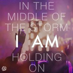 Thankful that I AM is holding me in the storms of life. Thankful that I AM is holding me in the storms of life. Christian Music Lyrics, Christian Music Artists, Christian Movies, Christian Artist, David Crowder, Contemporary Christian Music, Give Me Jesus, Irish Traditions, Christian Encouragement