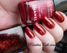 Barielle Elle's Spell over Chanel Rouge Carat