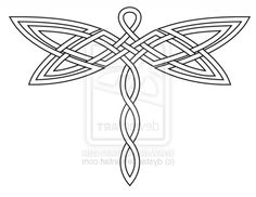 Celtic Dragonfly Tattoos