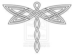 Celtic Dragonfly Tattoos