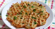 Gofry ziemniaczane – z surowych ziemniaków - dietetyczne placki ziemniaczane, bez glutenu, bez jajek, dieta antyhistaminowa