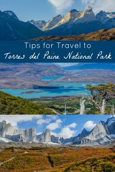 "Tips for Travel to Torres del Paine National Park in Chile's Patagonia region: Tips for planning your trip including maps of the top trekking and hiking routes in Torres del Paine (including the ""W"", and the ""O circuit""), tips for camping, refugios, and hotels, and more. Torres del Paine is one of the most beautiful places I've ever been--consider adding this Patagonian park to your South America travel bucket list! // Parque Nacional Torres del Paine, Magallanes, Chile"