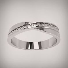 Infinity Ring Wedding, Engagement Wedding Ring Sets, Wedding Ring Bands, Diamond Engagement Rings, Wedding Ring Designs, Rings For Girls, Memorial Jewelry, Couple Rings, Dream Ring