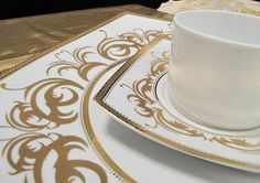Porcel Tuareg Promesse Dinnerware   Gracious Style