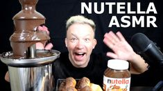 Chocolate Donuts, Chocolate Covered, Chocolate Fountains, Asmr, Nutella, Watch, Youtube, Chocolate Frosting, Autonomous Sensory Meridian Response