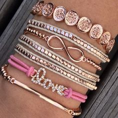 Love Rose #Bracelet Stack #ChichiMe