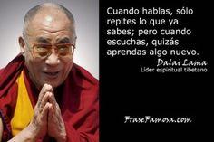 Frases de Dalai Lama - Frases de Aprendizaje - Frase Famosa