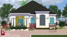1 new message House Plans Mansion, Duplex House Plans, Luxury House Plans, 20x30 House Plans, Four Bedroom House Plans, Bungalow Style House, Bungalow Floor Plans, Bungalow Designs, Architectural House Plans