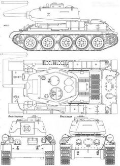 Afbeeldingsresultaat voor t T 34 85, Tank Drawing, Drafting Tools, Airplane Crafts, Soviet Army, Model Tanks, Ww2 Tanks, Tank Design, World History